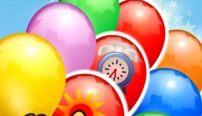لعبة فرقعة البالونات العاب اطفال اونلاين مجانية Balloon Popping
