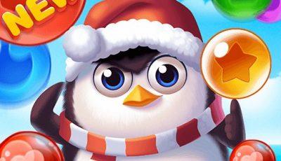 لعبة فقاعات البطريق العاب تصويب اونلاين مجانية Bubble Penguins