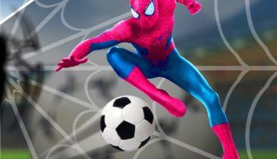 لعبة كرة قدم سبايدر مان العاب رياضة اونلاين مجانية Spider man Football Game