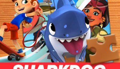 لعبة لغز سمك القرش العاب الغاز اونلاين مجانية Sharkdog Jigsaw Puzzle