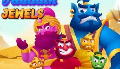 لعبة مجوهرات علاء الدين العاب الغاز اونلاين Aladdin Jewels