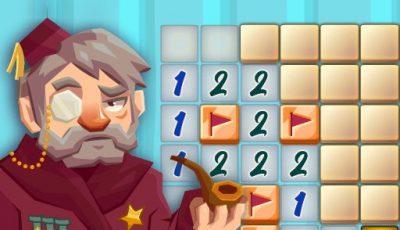 لعبة كاسحة الألغام الكلاسيكية العاب الغاز اونلاين Classic Minesweeper