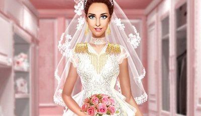 لعبة متجر فساتين العرائس العاب تلبيس للبنات اونلاين Bridal Atelier