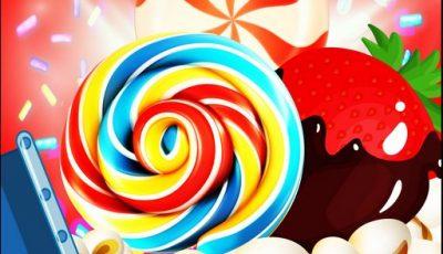 لعبة مطابقة حلوى الفشار العاب مطابقة أونلاين Candy Burst Popcorn
