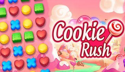 لعبة مطابقة الكوكيز العاب مطابقة أونلاين Cookie Rush