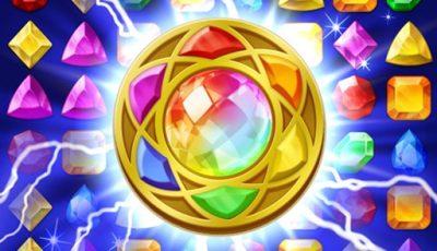 لعبة مطابقة المجوهرات السحرية العاب مطابقة اونلاين مجانية Jewels Magic: Mystery Match3