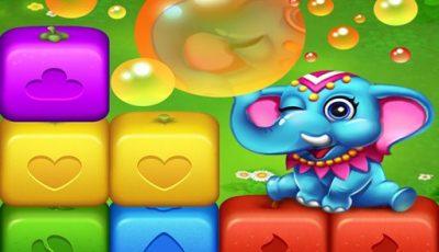 لعبة إنفجار مكعبات الفواكه العاب مطابقة اونلاين مجانية Fruits Cube Blast