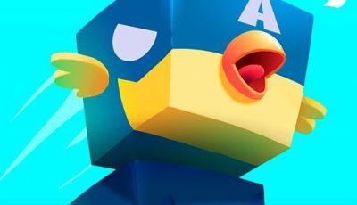 لعبة مغامرة الطائر المربع العاب مغامرات اونلاين مجانية Square Hero Bird