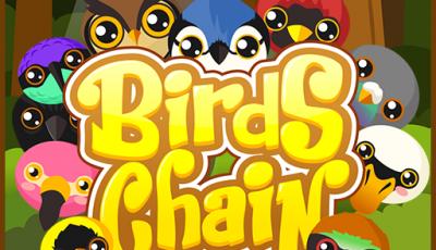 لعبة سلسلة الطيور العاب الغاز اونلاين مجانية Bird Chain