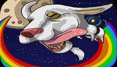 لعبة مغامرة الماعز فى القمر العاب مغامرات اونلاين Goat to the moon