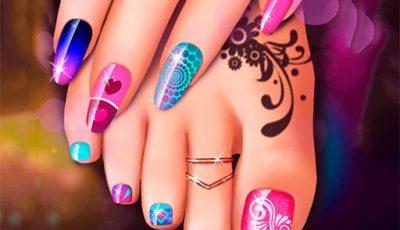 لعبة صالون الباديكير والمانيكير العاب بنات اونلاين مجانية Nail Art Fashion Salon