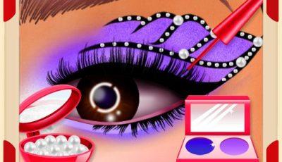 لعبة مكياج عيون الاميرة العاب مكياج للبنات مجانية Incredible Princess Eye Art 2