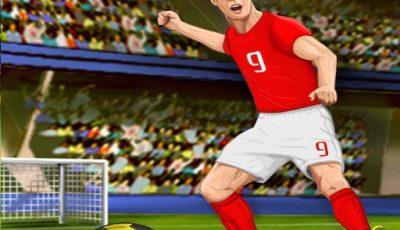 لعبة مهارات كرة القدم العاب رياضة اونلاين مجانية Sccoer Skills