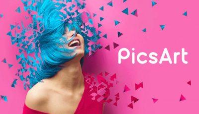 تطبيق PicsArt لتعديل الصور